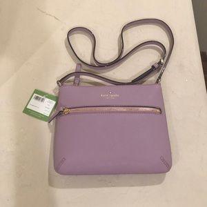 Kate Spade - Tenley Lilac Petal Crossbody Handbag